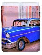 Azul Cobalto Duvet Cover