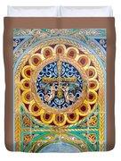 Azulejo - Colorful Details Duvet Cover