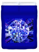 Azure Orb Of Midas Duvet Cover