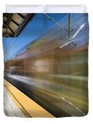 Azusa Downtown Metro Station Duvet Cover