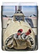 B-17 Flying Fortress Guns  Duvet Cover