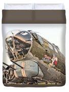 B-17 Texas Raiders Duvet Cover