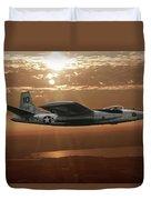 B-45c Tornado Duvet Cover
