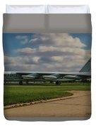B-52 City Of Riverside Duvet Cover