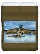 B-52 Departure Color Duvet Cover