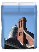 B And O Railroad Station In Oakland Maryland Duvet Cover