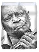 B B King Duvet Cover