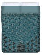 B - N W B  -  Blue Netwireblast Duvet Cover