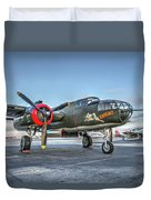 B25 Mitchell At Livermore Duvet Cover