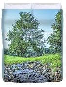 Babbling Creek Duvet Cover