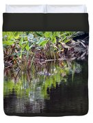 Babcock Wilderness Ranch - Alligator Den Duvet Cover