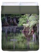 Babcock Wilderness Ranch - Peaceful Alligator Lake Duvet Cover