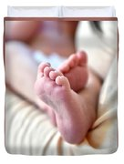 Babies Feet Duvet Cover