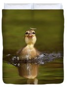 Baby Animal Series - Hunting Duckling Duvet Cover