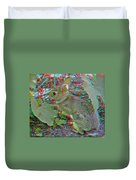 Baby Bunny - Use Red-cyan 3d Glasses Duvet Cover