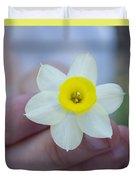 Baby Daffodil Duvet Cover
