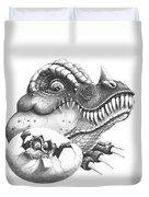 Baby Dinosaur Duvet Cover