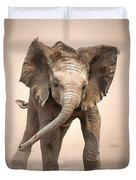 Baby Elephant Mock Charging Duvet Cover