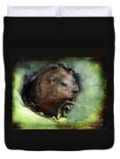 Baby Groundhog Duvet Cover