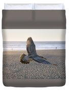 Baby Gull At Dusk Duvet Cover