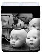 Baby Heads, No.1  Duvet Cover