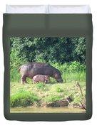 Baby Hippo 2 Duvet Cover