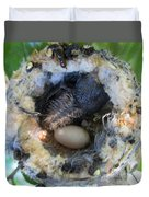 Baby Hummingbird Duvet Cover