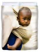 Baby In A Sling Duvet Cover