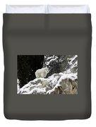 Baby Mountain Goat Duvet Cover
