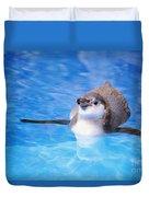 Baby Penguin Floating Duvet Cover