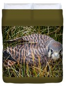 Baby Sage Grouse Duvet Cover