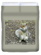 Baby Squirrel Duvet Cover