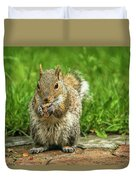 Baby Squirrel's First Peanut Duvet Cover
