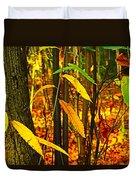 Baby Tree Foliage Duvet Cover