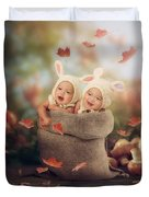 Baby Twins Duvet Cover