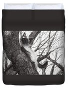 Baby Up The Apple Tree Duvet Cover