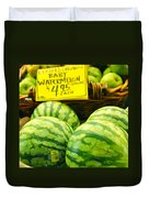 Baby Watermelons Duvet Cover