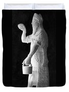 Babylonian God Of Healing, 5000 Bc Duvet Cover