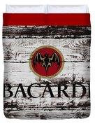 Bacardi Wood Art Duvet Cover