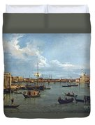 Bacino Di San Marco From Canale Della Giudecca Duvet Cover