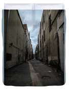 Back Alley Duvet Cover