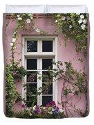Back Alley Window Box - D001793 Duvet Cover