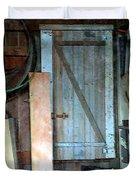 Back Corner Closet Duvet Cover