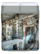 Back In 5 - The General Store, Bodie Ghost Town Duvet Cover