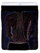 Back Of Beads Duvet Cover