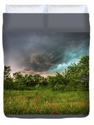 Back To Life - Spring Returns To Western Texas Duvet Cover