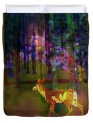 Back To The Forest Duvet Cover
