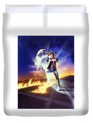 Back To The Future 1985 Duvet Cover