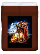 Back To The Future Part IIi 1990 Duvet Cover