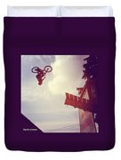 Backflip Descent Duvet Cover